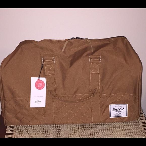 cfc346ca37 Herschel Supply Co. Novel Duffle Bag Caramel